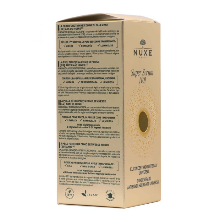 Nuxe Super Serum 10 El Concentrado AntiEdad Universal 30ml