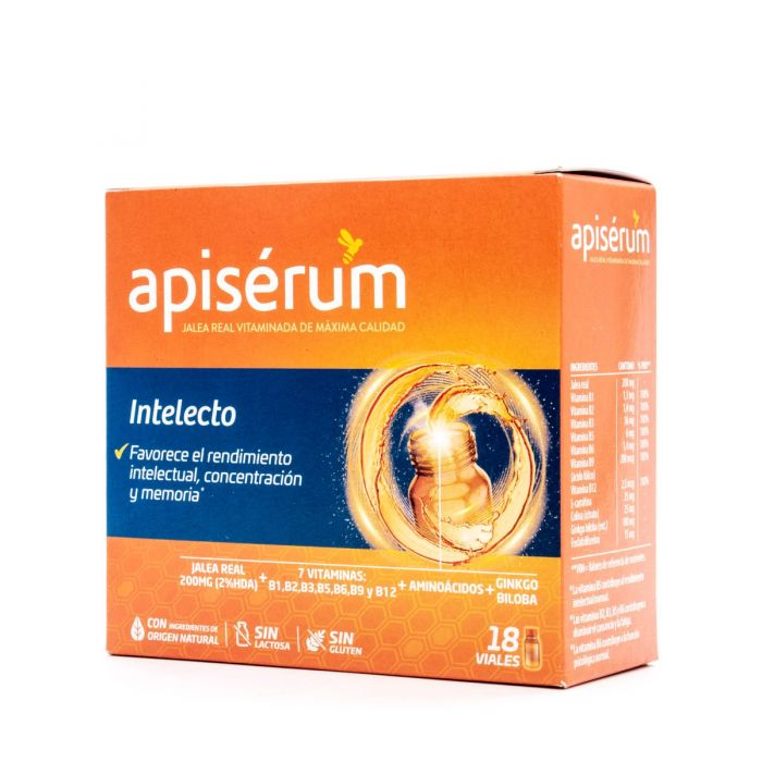 Apiserum Intelecto 18 Viales