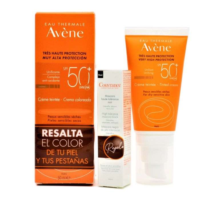 Avene Solar Crema Coloreada SPF50+ 50ml