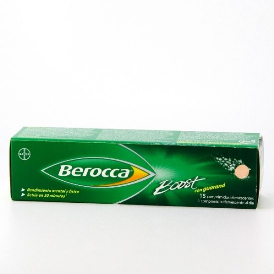 Berocca Boost con Guaraná 15Comp Eferv