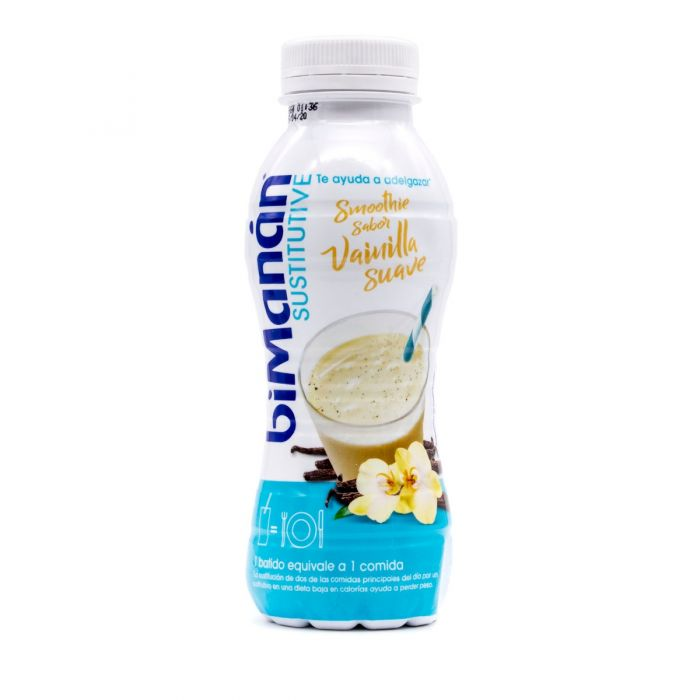 BiManan Sustitutive Smoothie Vainilla Suave 330ml