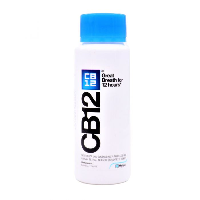 CB12 Enjuague Bucal Buen Aliento 250ml