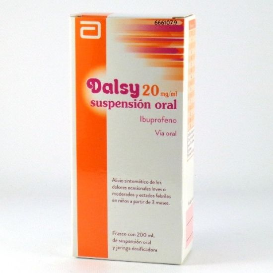 Dalsy 20mg/ml suspension oral 200ml
