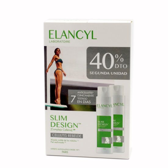 Elancyl Slim Design 200ml+200ml Pack Duo NUEVO