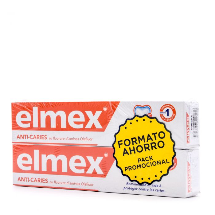 Elmex Pasta Dentífrica 2X75ml Pack Promocional