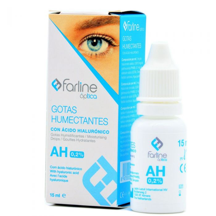 Farline Óptica Gotas Humectantes AH 0,2% 15ml