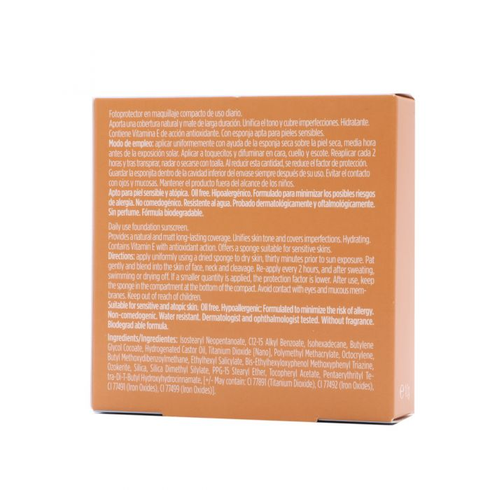 Fotoprotector Isdin Maquillaje Compact SPF50+ Oil Free Bronce 10gr