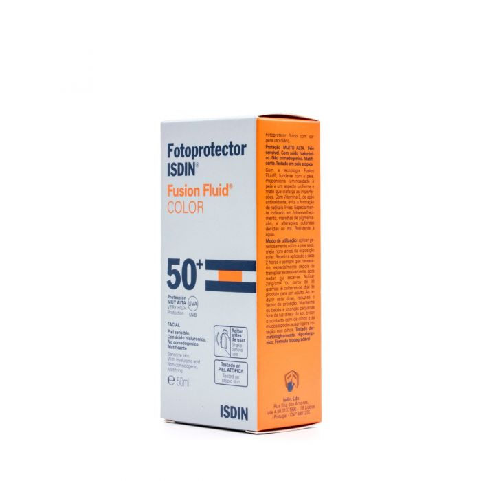 Fotoprotector Isdin Fusion Fluid SPF 50+ Color 50ml