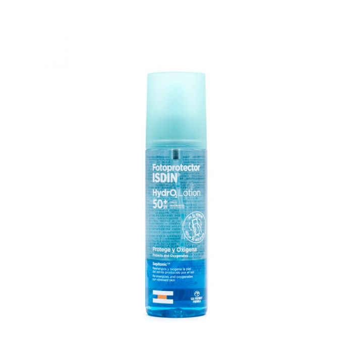 Fotoprotector Isdin HydroLotion Protege y Oxigena SPF50+200ml