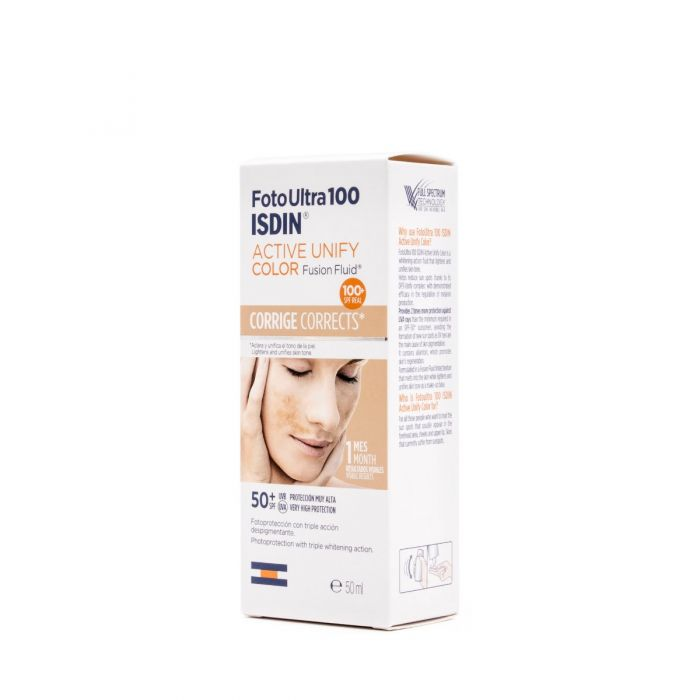 FotoUltra 100 Isdin Active Unify Fusion Fluid Color SPF50+ 50ml