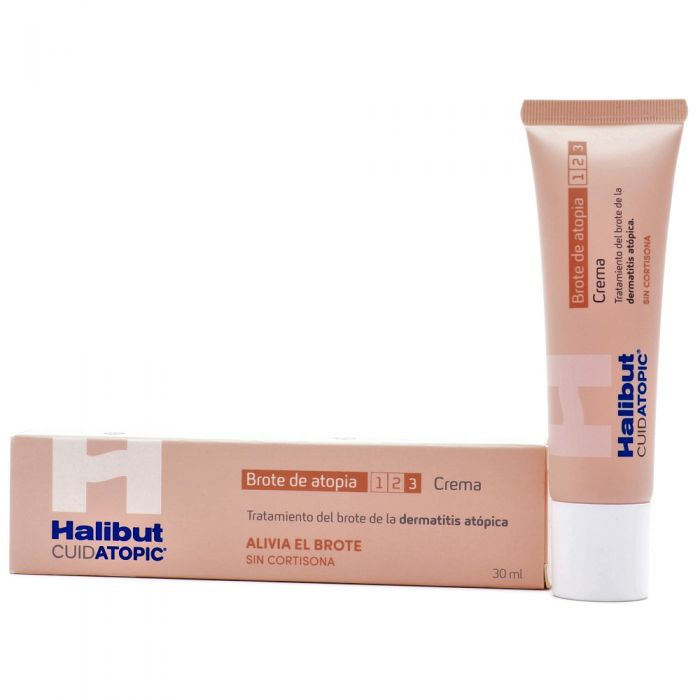 Halibut Cuidatopic Brote de Atopía Crema 30ml