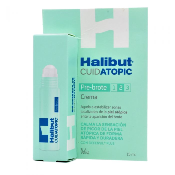 Halibut Cuidatopic Pre Brote Crema 15ml