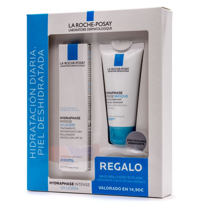 Hydraphase UV Intense Ligera La Roche Posay+Hydraphase Masque de Regalo