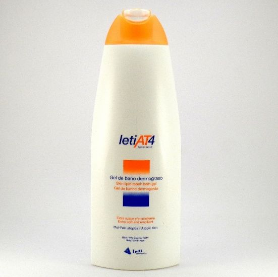 Leti AT4 Gel de Baño Dermograso 750ml