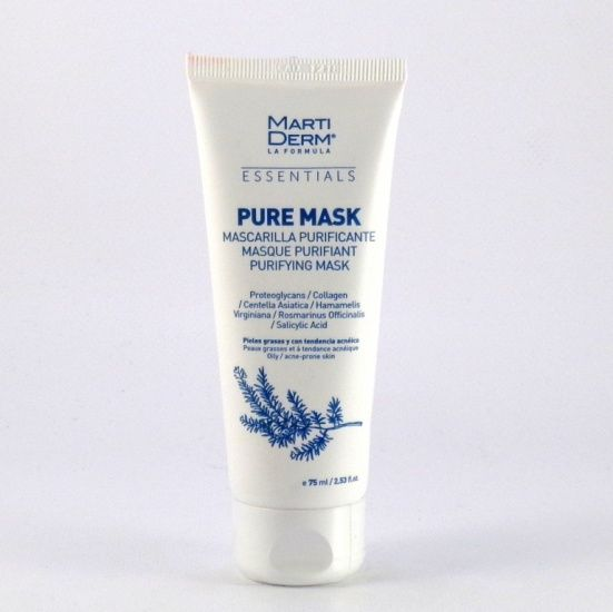 MartiDerm Essentials Pure Mask Piel Grasa y Acneica 75ml