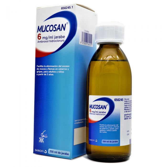 Mucosan 6mg/ml Jarabe 250ml