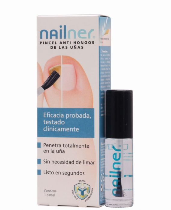 Nailner Pincel AntiHongos de las Uñas 5ml