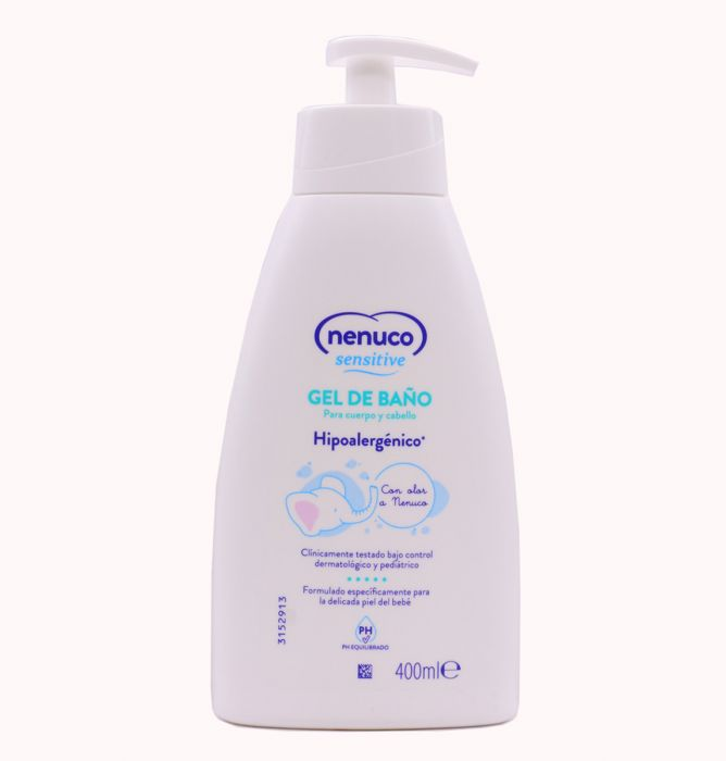 Nenuco Sensitive Gel de Baño 400ml