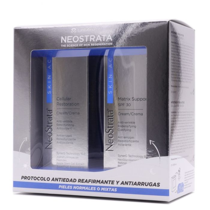Neostrata Skin Active Cellular Restoration Crema + Matrix Support SPF30 Pack