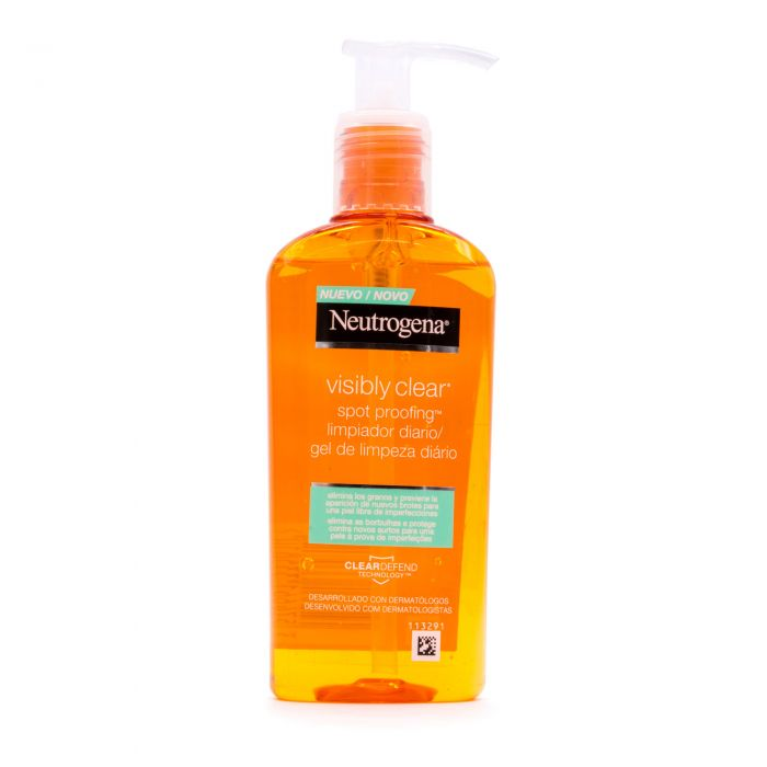 Neutrogena Visibly Clear Spot Proofing Limpiador Diario 200ml