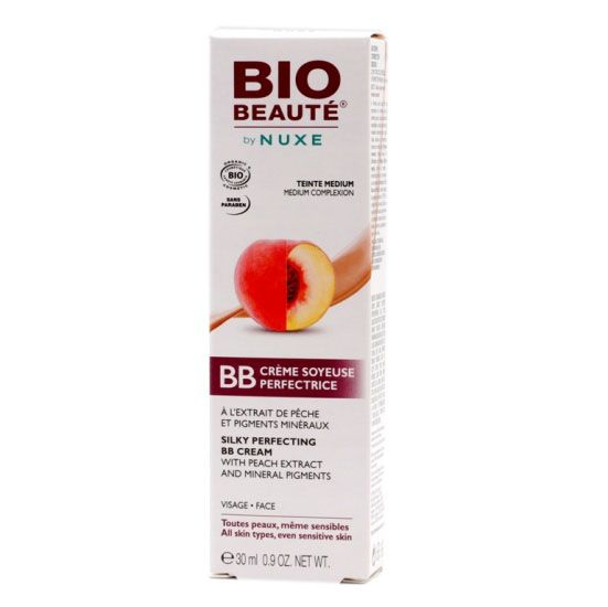 Nuxe Bio Beaute BB Crema Rostro Tono Medio 30ml
