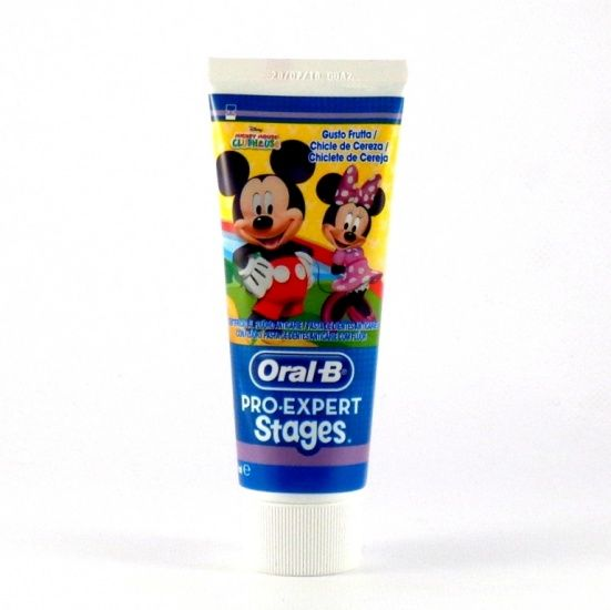 Oral B Pro-Expert Stages Mickey Hasta 6 Años 75ml