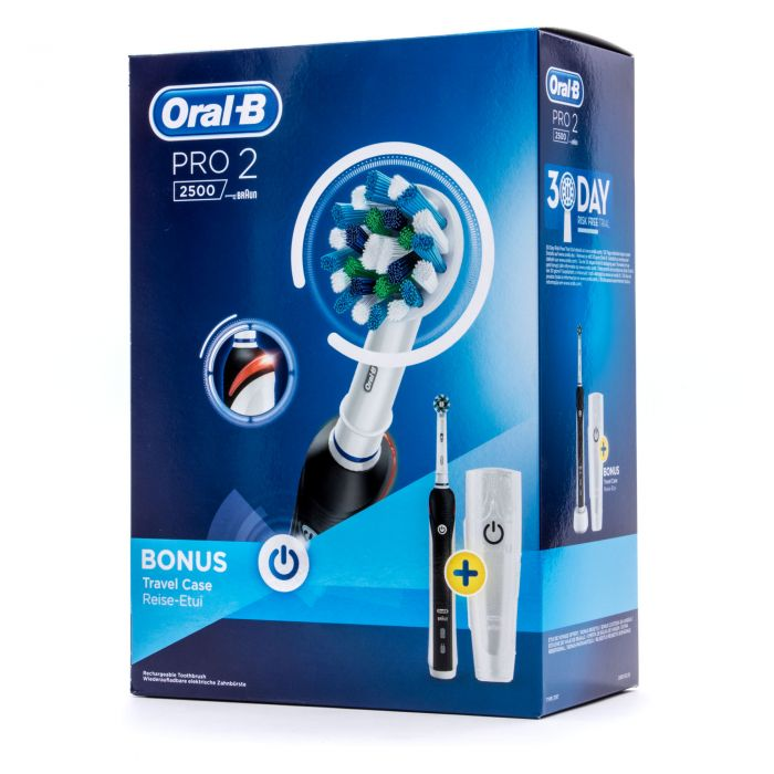 Oral B Cepillo Eléctrico PRO 2 2500+Travel Case
