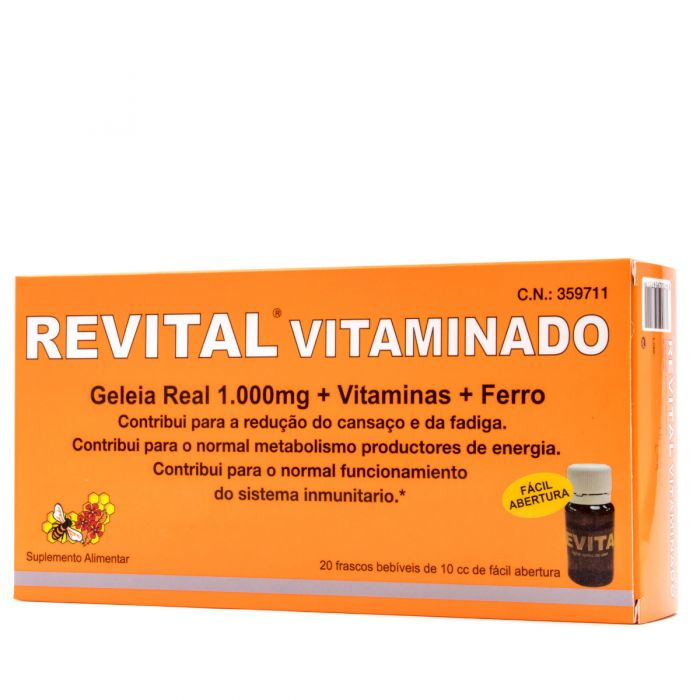 Revital Vitaminado 20 Ampollas Bebibles