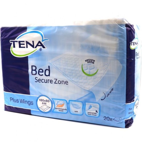 Tena Bed Plus Protector Absorbente 80x180cm 20uds