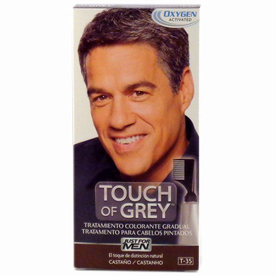 Touch of Grey Color Castaño de Just For Men
