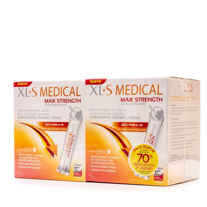 XLS Medical Max Strength 2Uds X 60 Sticks