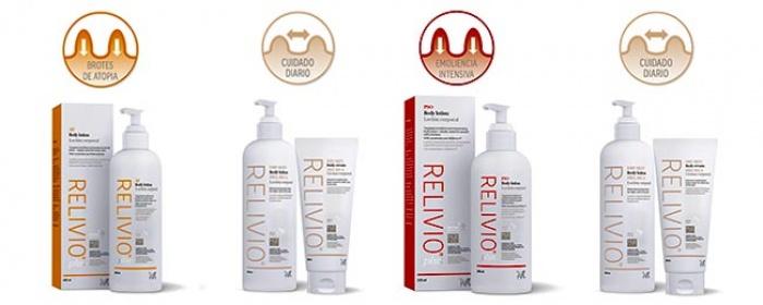 Relivio nuevas soluciones para la psoriasis, piel atópica y piel seca
